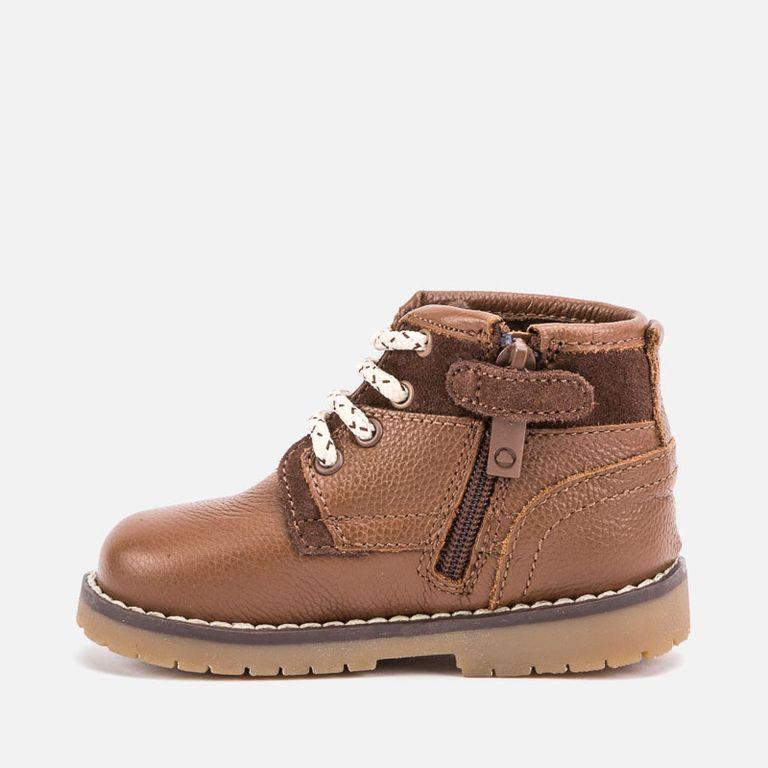 Ботинки коричневые кожа (р. 24,25)