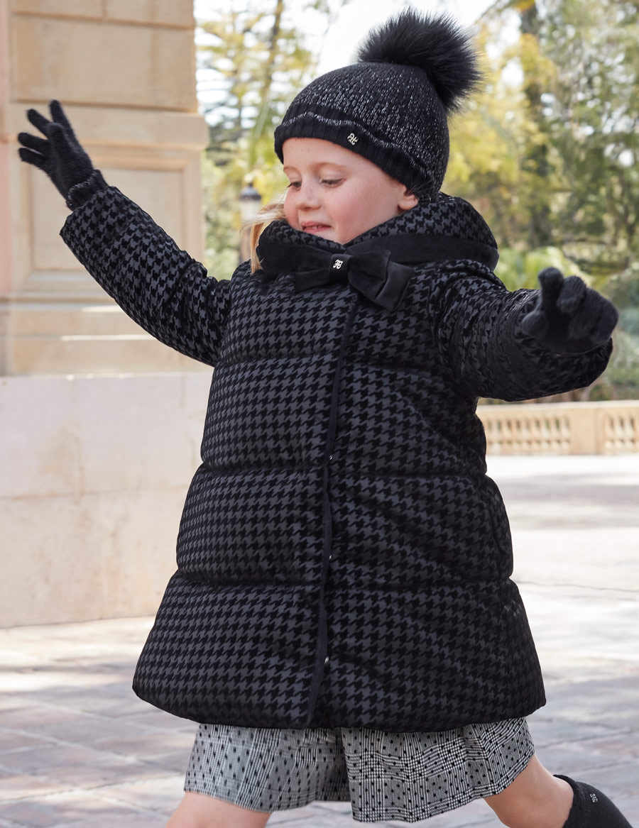 Двусторонняя куртка «Black» (7,8 лет)