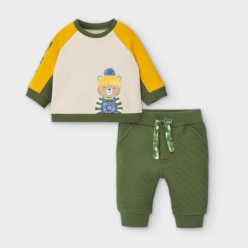 Джемпер и брюки «Медведь» (6-9; 12 мес)