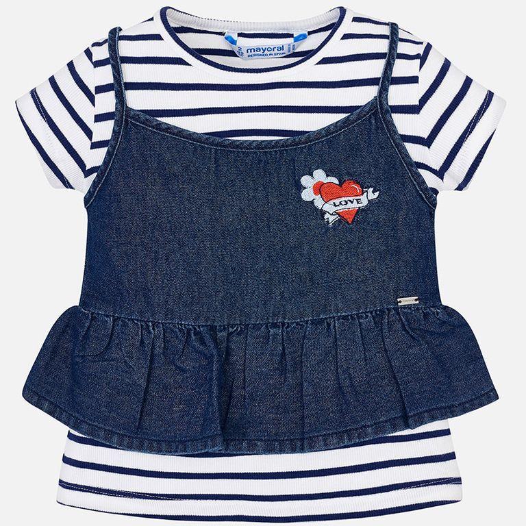 К-т: футболка и майка «Love» (5,6,7 лет)