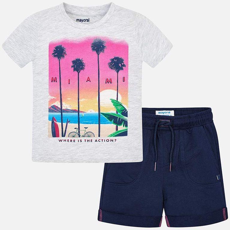 К-т: шорты и футболка «Майями» (3,4,5 лет)