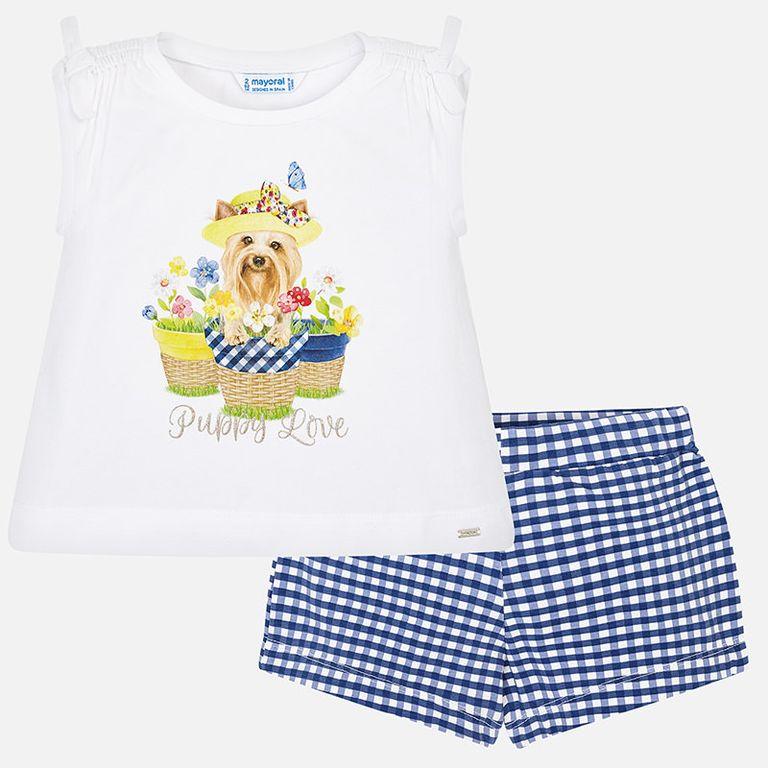 К-т: шорты и футболка «Собачка» (5,8 лет)