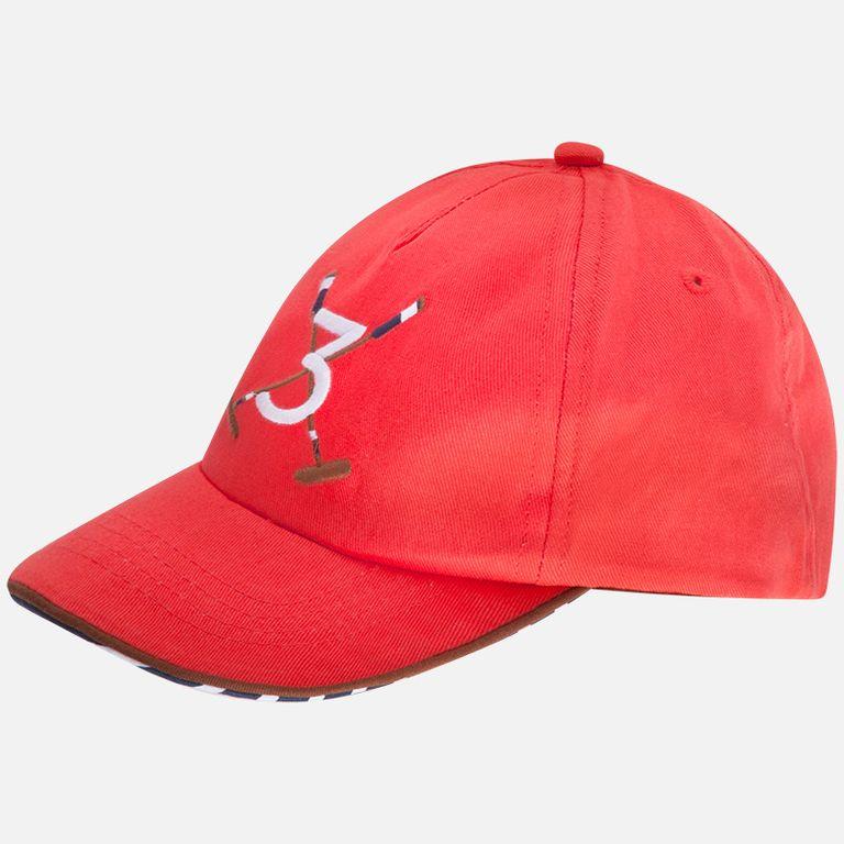 Кепка красная «Поло» (размер 50, 52, 54)