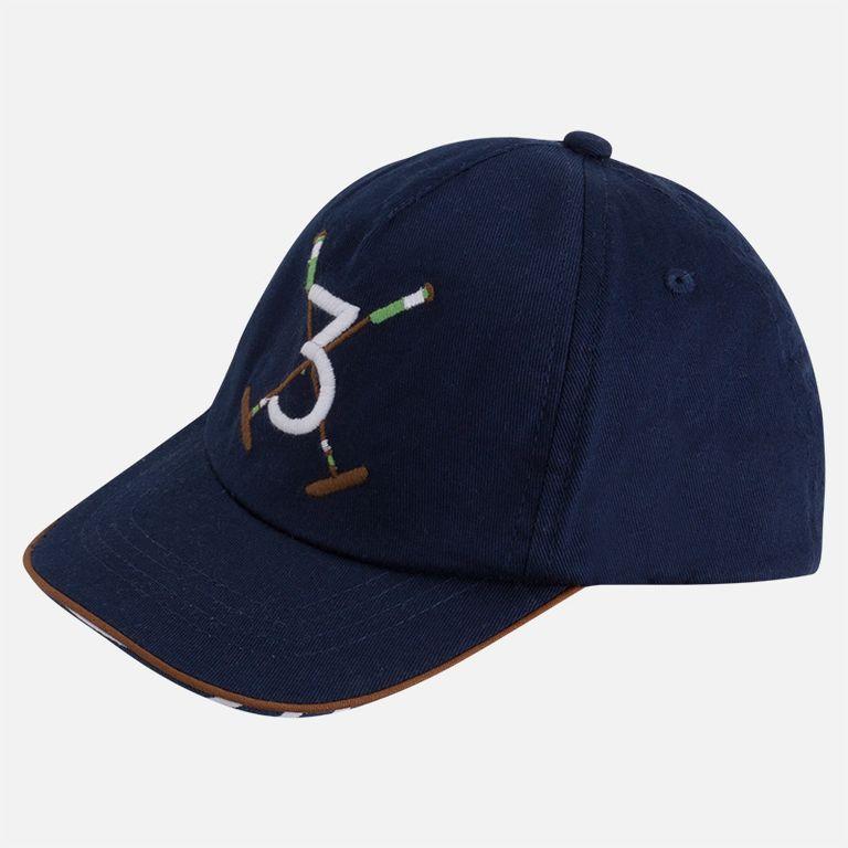 Кепка синяя «Поло» (размер 50)