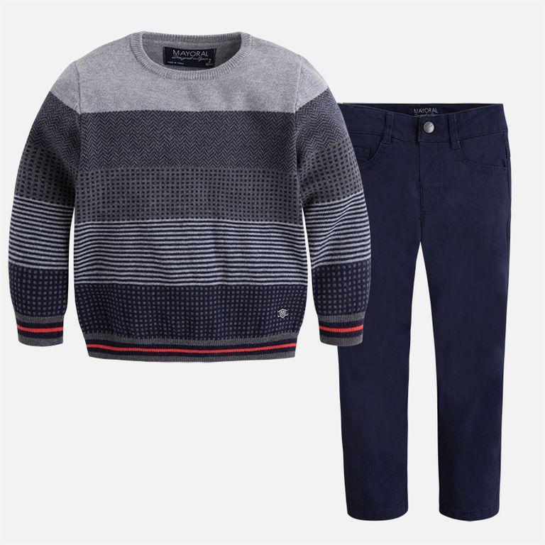 Комплект брюки и джемпер (5, 7)