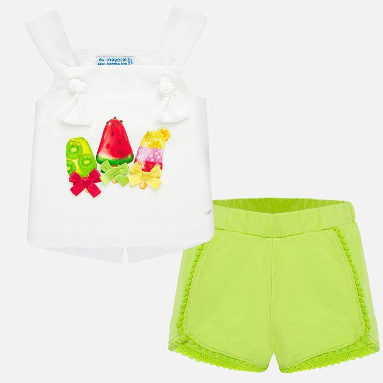 Комплект: майка и шорты «Мороженки» (18,24 мес)
