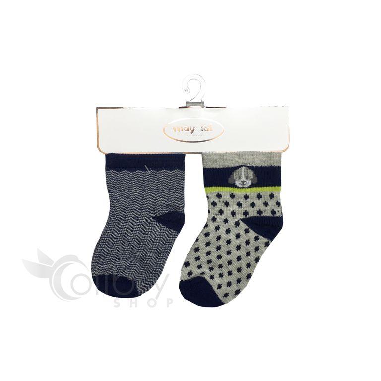 Комплект носков для мальчика (3, 6 мес)