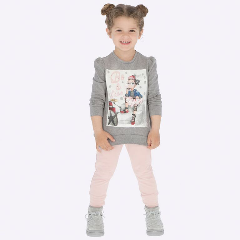 Комплект «Рокерша» с 2 парами брюк (3,4 года)