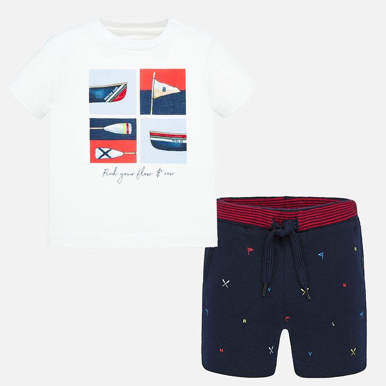 Комплект: футболка и шорты «Спорт»(24,36 мес)