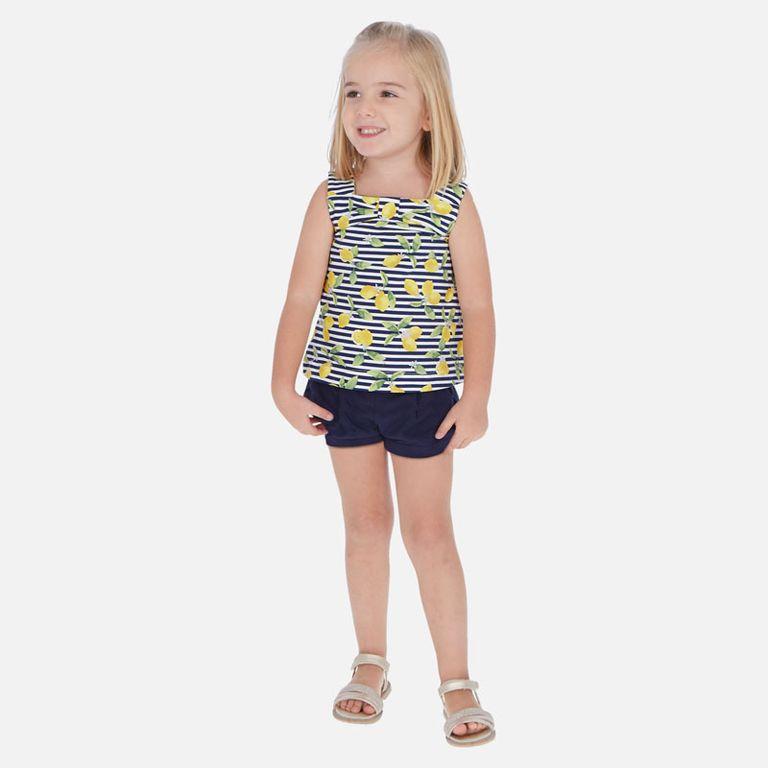 Комплект: шорты и майка «Лимончики» (3,4,5,6 лет)