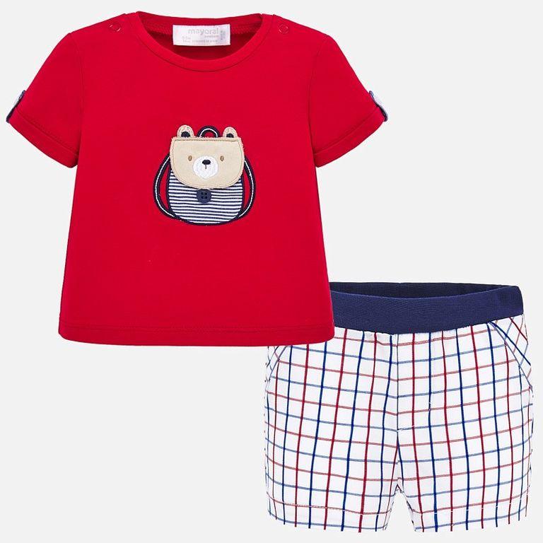 Комплект: шорты и футболка «Мишка» (12 мес)