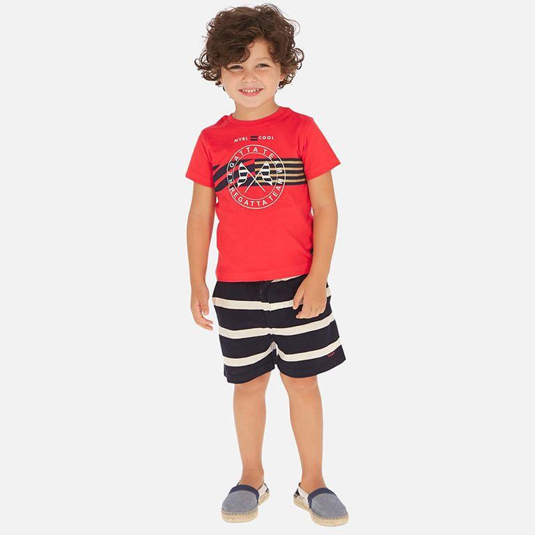Комплект: шорты и футболка «Регата» (7,8,9 лет)