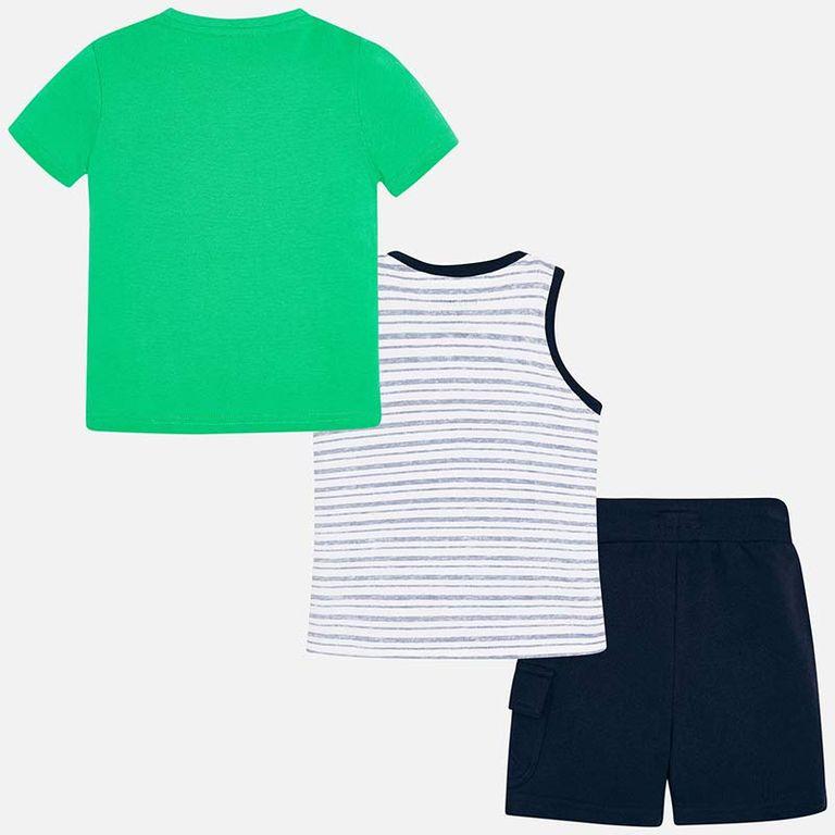 Комплект: шорты, футболка и майка (6,7,8,9 лет)