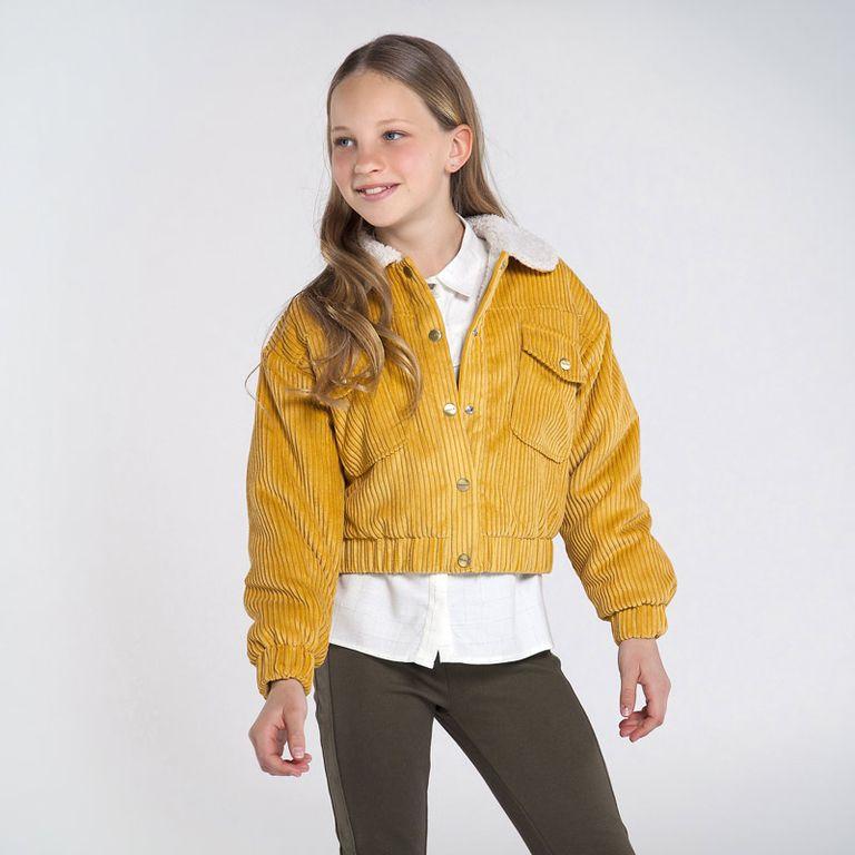 Куртка горчичная (10 лет)