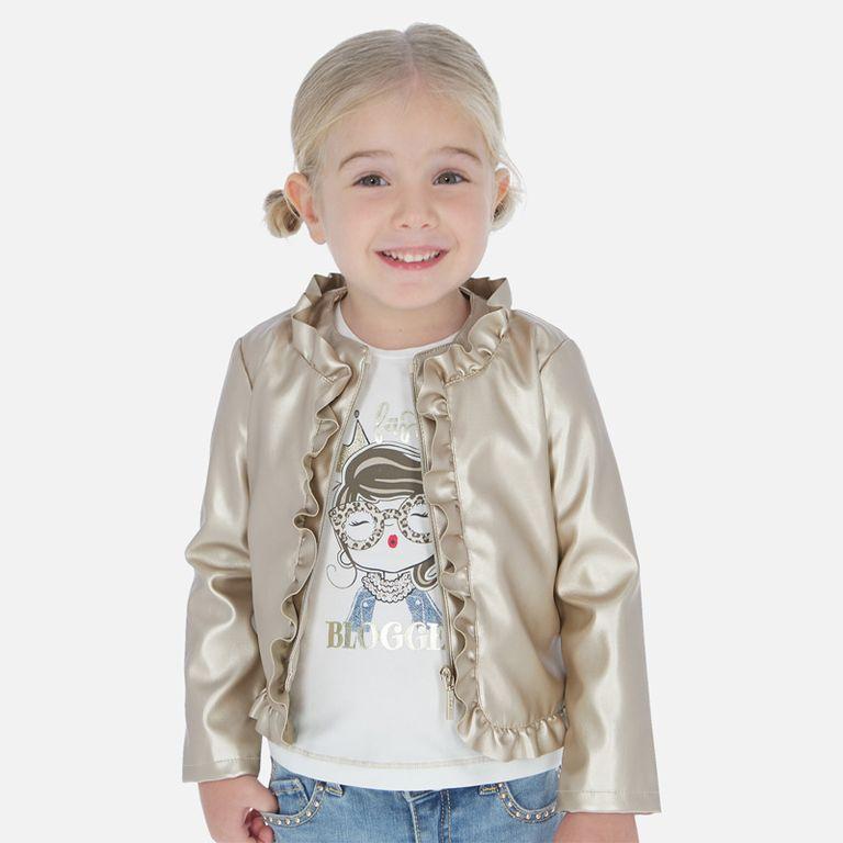 Куртка золотая (4,5,6 лет)