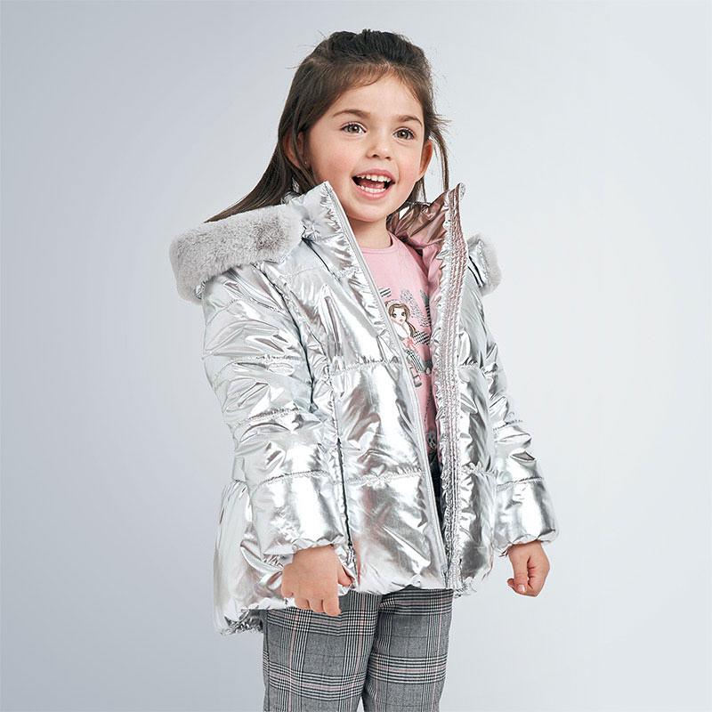 Куртка серебро (7,8,9 лет)