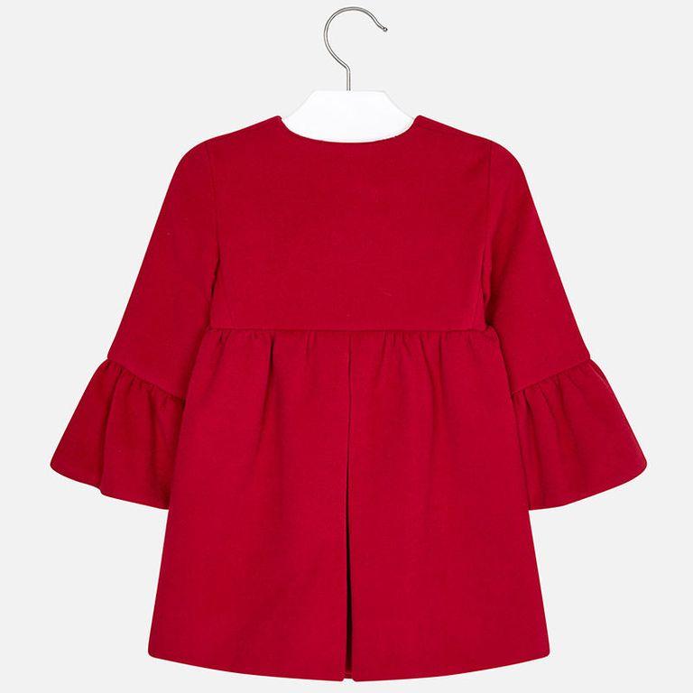 Пальто красное (4,5 лет)