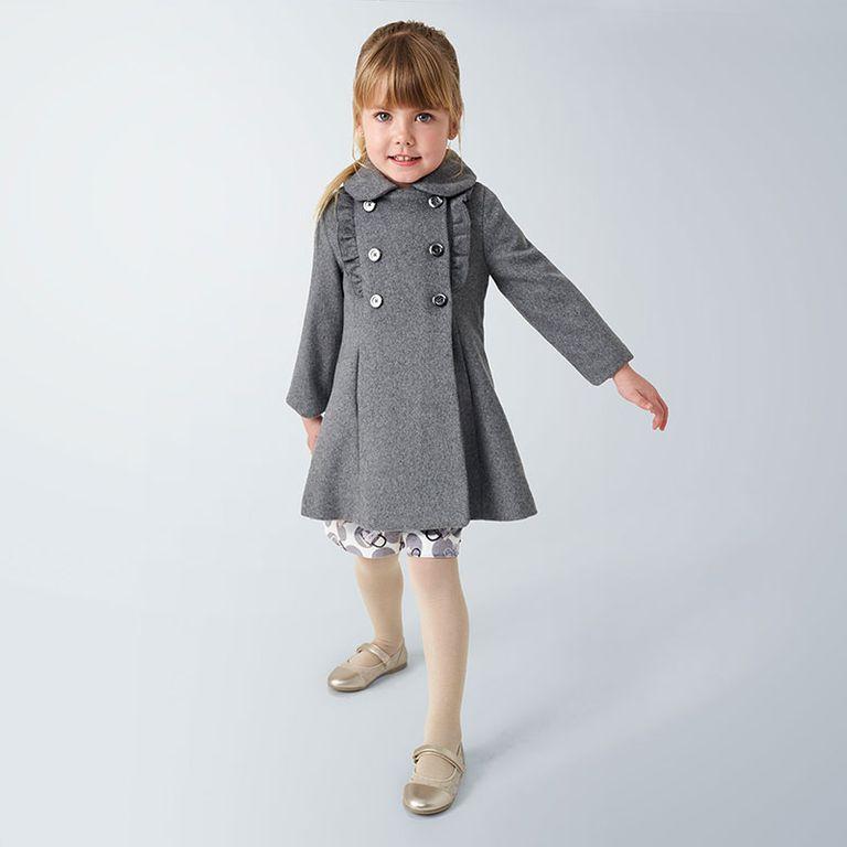 Пальто серое (7,8,9 лет)