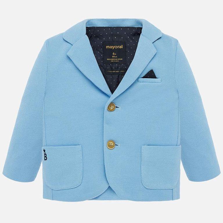 Пиджак голубой (24,36 мес)