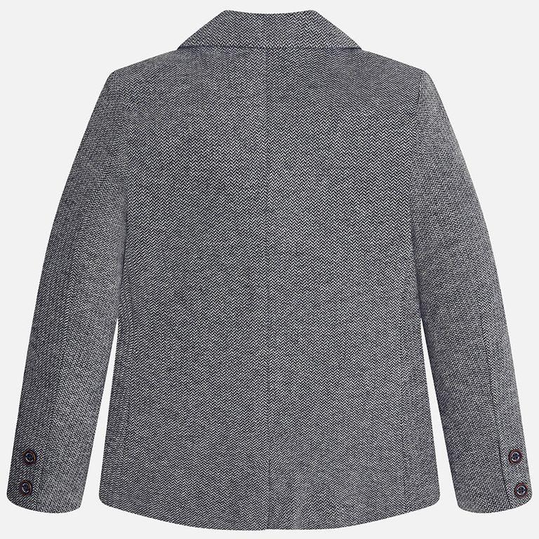 Пиджак серый «ёлочка» (12 лет)