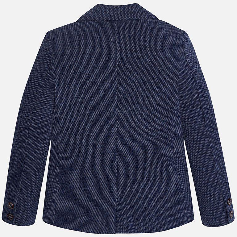 Пиджак синий «ромбики» (12 лет)