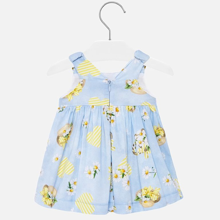 Платье голубое «Лето» (24,36 мес)