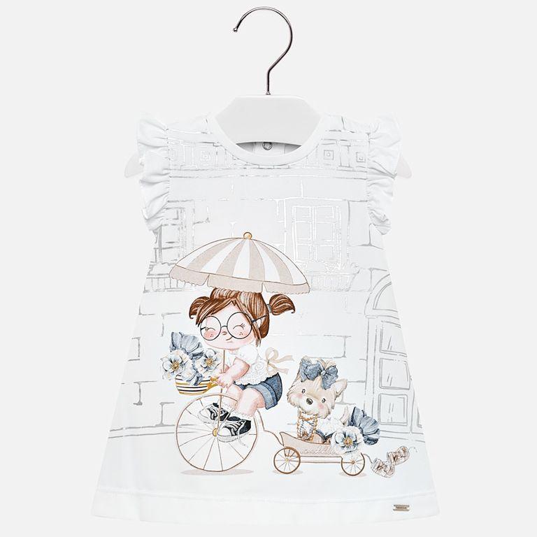 Платье «На велосипеде» (12 мес)