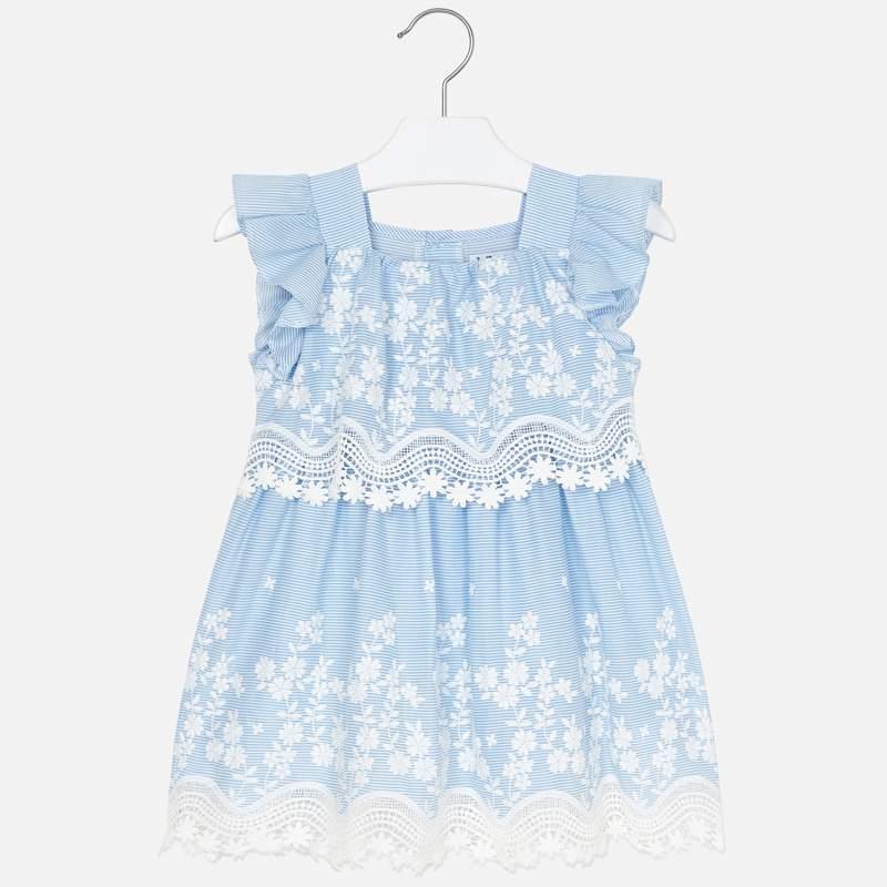 Платье небесное (7,8,9 лет)