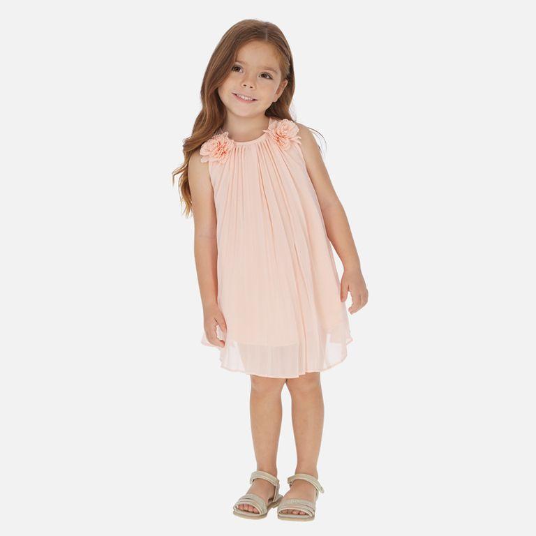 Платье персиковое (4,5,6 лет)
