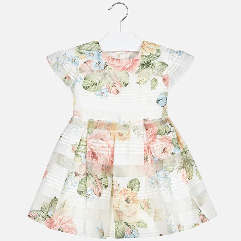 Платье «Персиковые цветы» (4,6,8 лет)