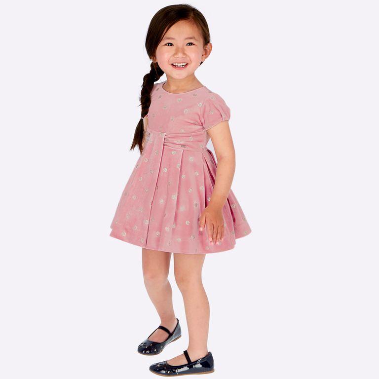 Платье розовое «Снежок» (3,4 года)