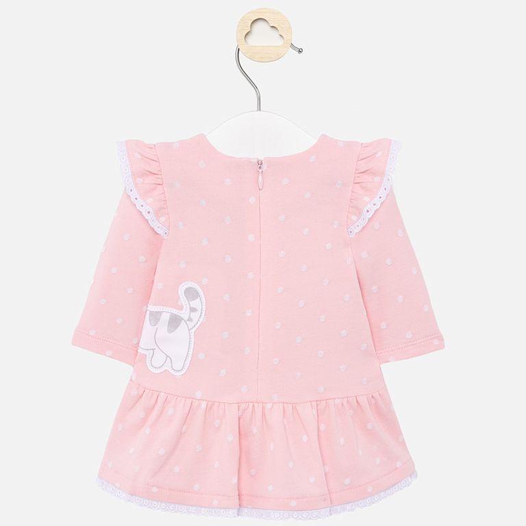 Платье розовое «Kitty» (12 мес)