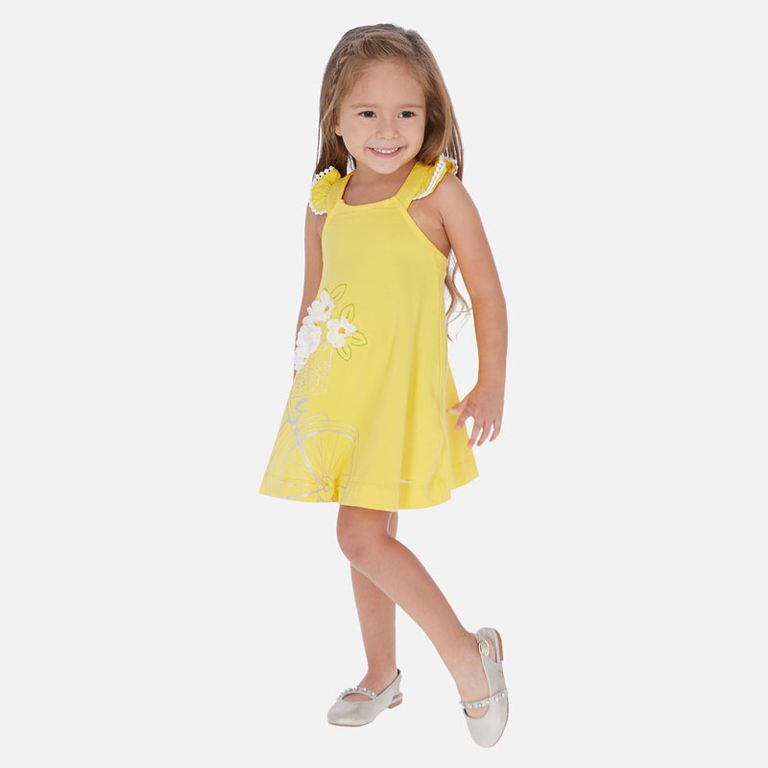 Платье «Ромашки» (5,6,7 лет)