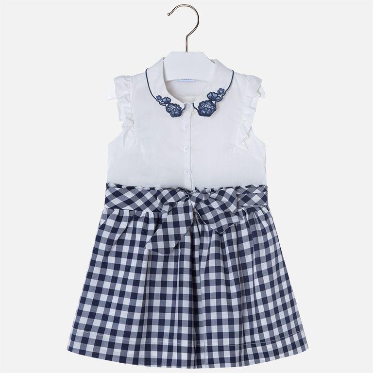 Платье с клеткой (5,6,7 лет)