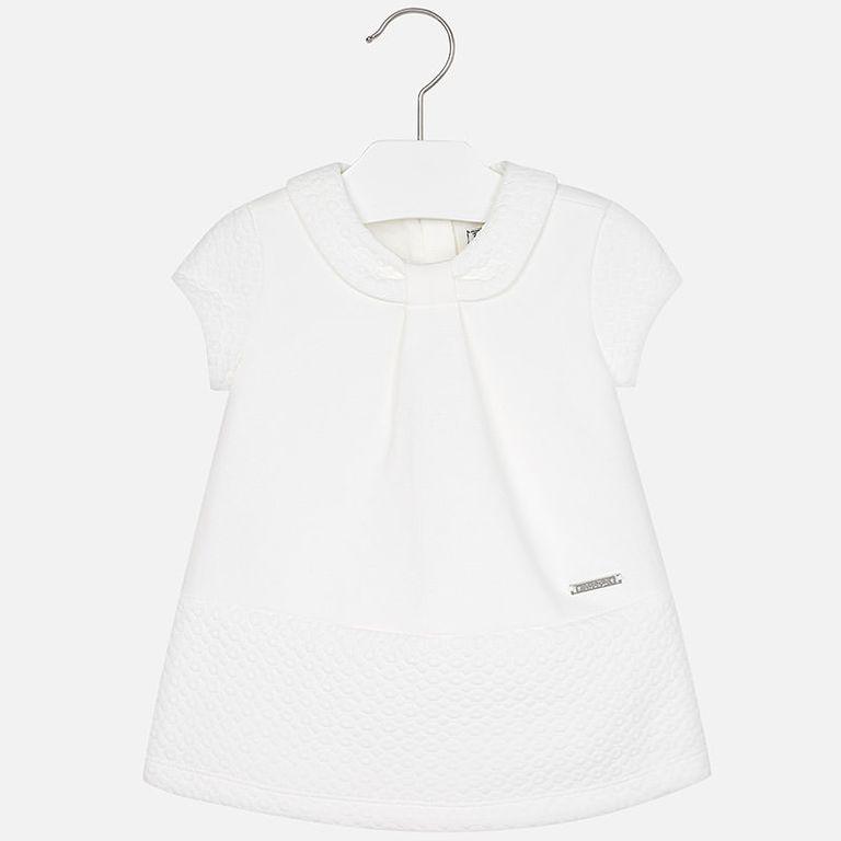 Платье-сарафан белое (12,24 мес)