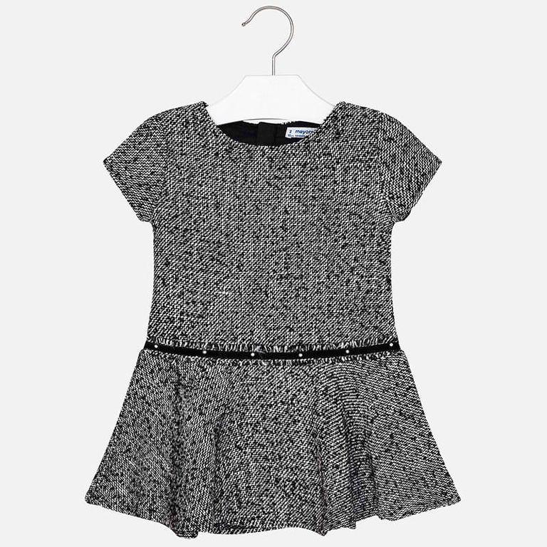 Платье черно-белое (6,7,8 лет)