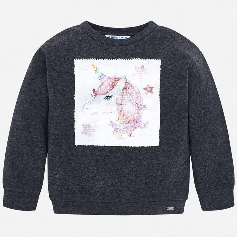 Пуловер «Единорог» (6,7,9 лет)