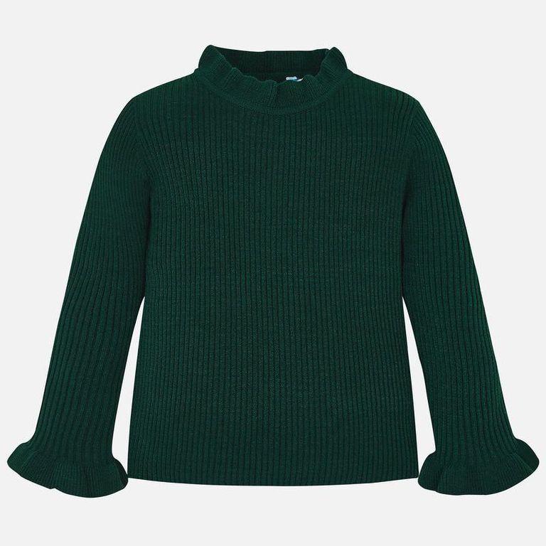 Пуловер зеленый (3,4,7 лет)