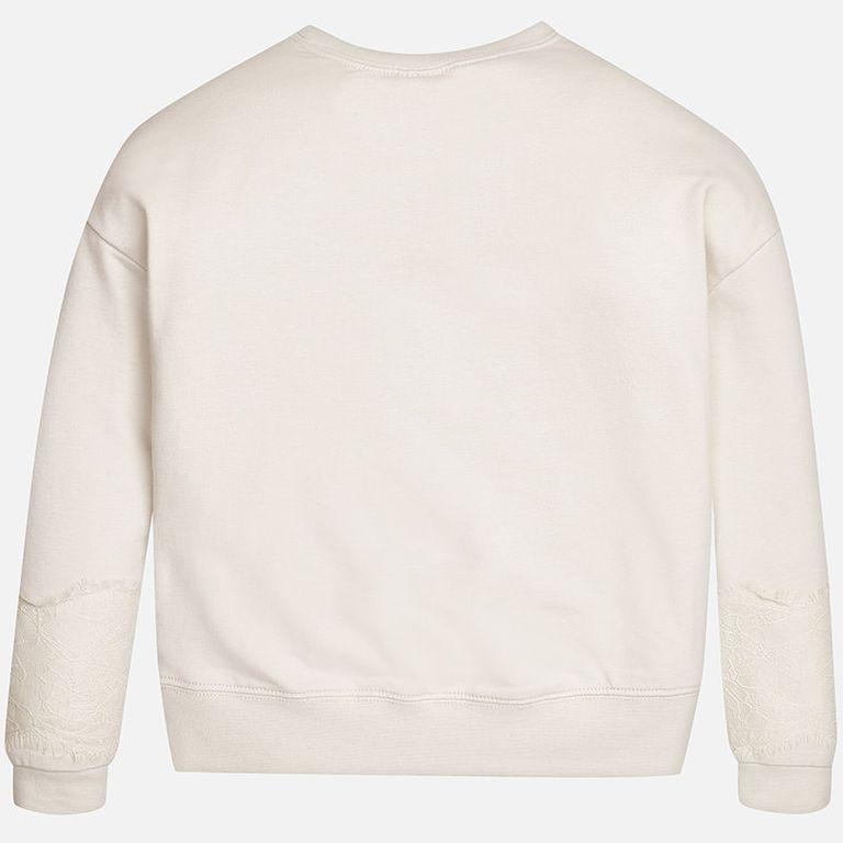 Пуловер со стрекозами бежевый (12 лет)