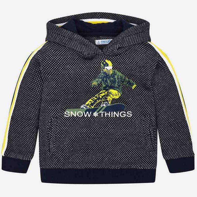 Пуловер «Snow things» (3,5,6 лет)