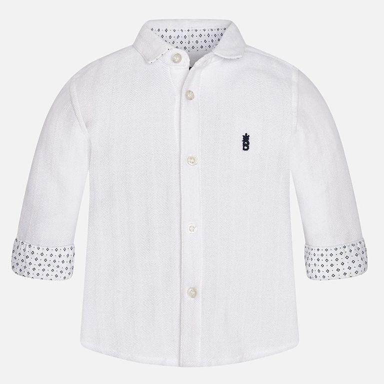 Рубашка белая (18,24 мес)