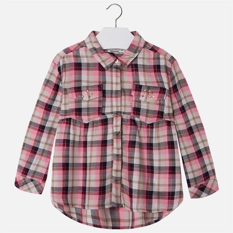 Рубашка в клетку (4 года)