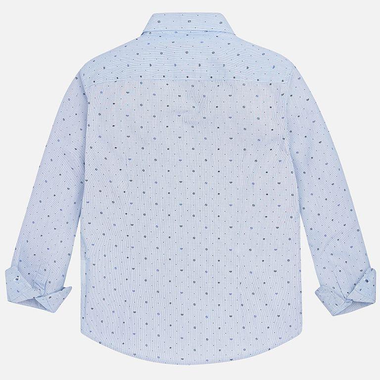 Рубашка голубая (10,12,16 лет)