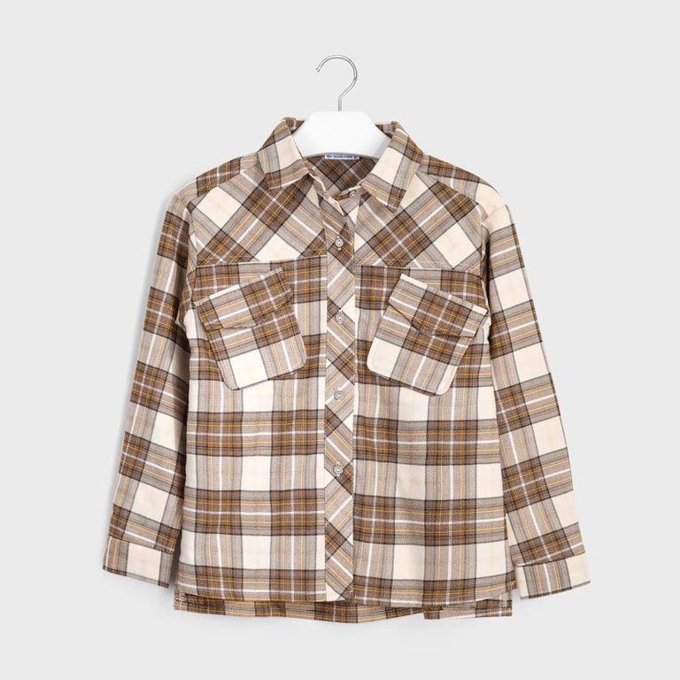 Рубашка клетка (10,12 лет)