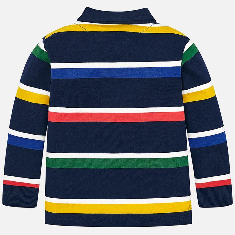Рубашка-поло в полоску (4,5,7 лет)