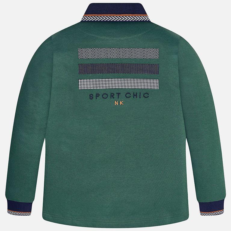 Рубашка-поло зеленая (12 лет)