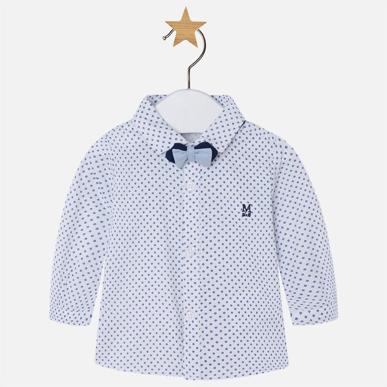 Рубашка с бабочкой (2-4 мес)