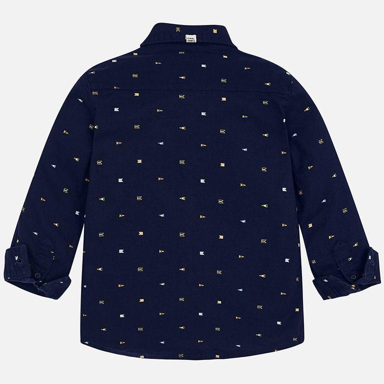 Рубашка черная (5,6,7 лет)