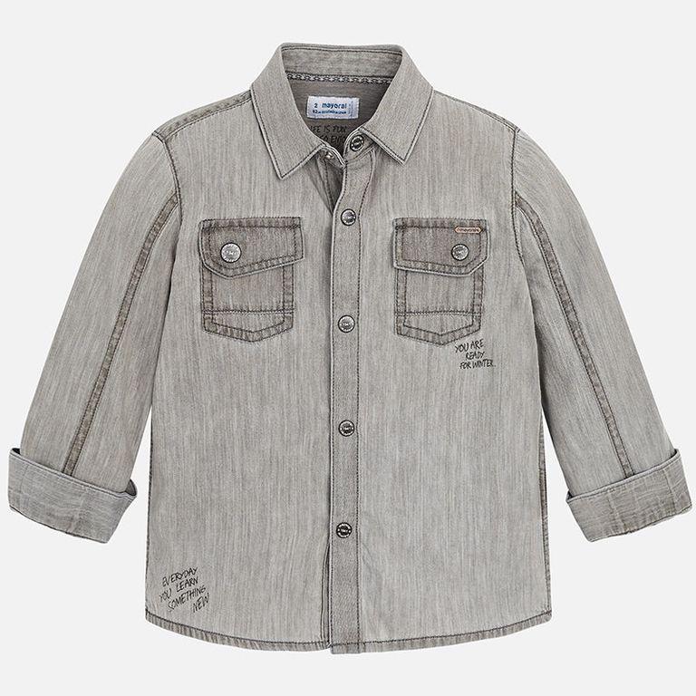 Рубашка «Grey» (4,5 лет)