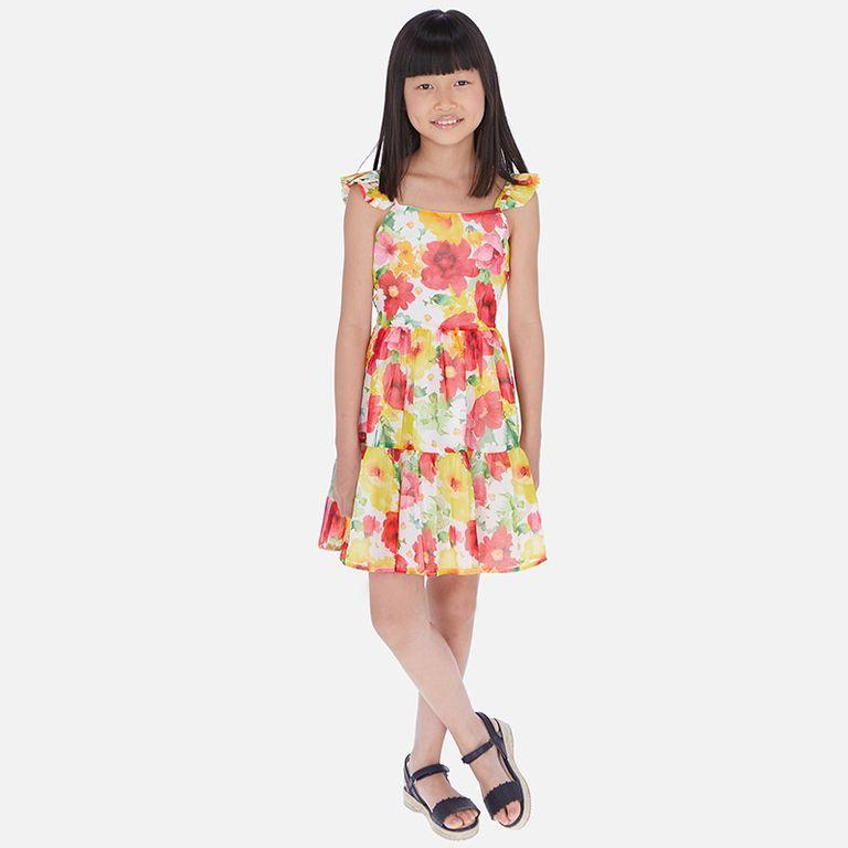 Сарафан цветочный (10 лет)